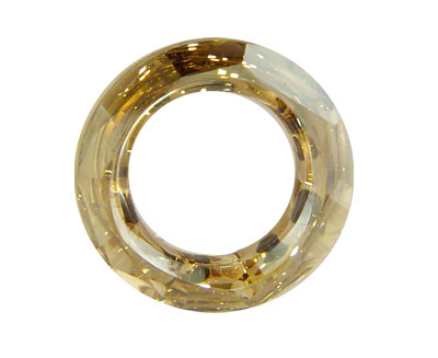 SWA-4139 Anillo 20x5mm (interior 12mm) - Crystal GOLDEN SHADOW