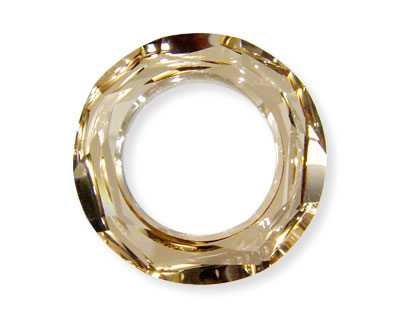 SWA-4139 Anillo 30x8mm (interior 18mm) - Crystal GOLDEN SHADOW