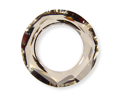 SWA-4139 Anillo 20x5mm (interior 12mm) - Crystal SILVER SHADE