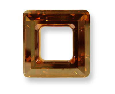 SWA-4439 Cuadrado Hueco 20mm - Cristal COPPER