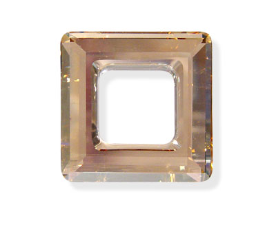 SWA-4439 Cuadrado Hueco 20mm - Cristal GOLDEN SHADOW