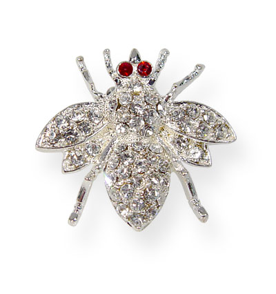 Broche Strass Abeja