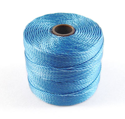 Hilo S-LON (Superlon - Nylon) Grosor 1mm - Azul Carolina