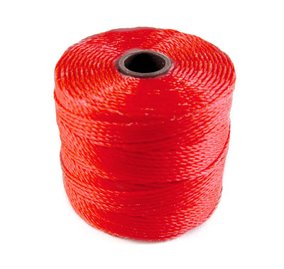 Hilo S-LON (Superlon - Nylon) Grosor 1mm - Coral