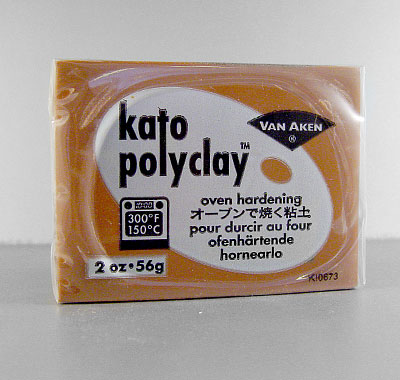 Kato Polyclay - 56 grs. Color Individual - Marron
