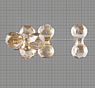 SWA-5150 Cuenta Modular 11x6mm - Cristal GOLDEN SHADOW