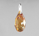 SWA-6010 Briolette Grande 21x10,5mm - Crystal COPPER